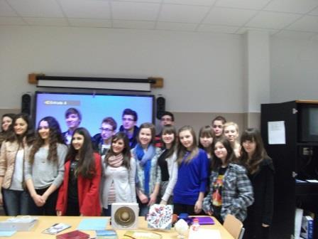 Projekto dalyviai-mokiniai