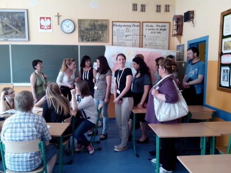 Ekskursija per mokyklą