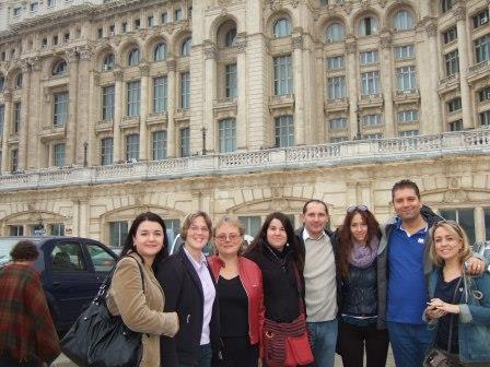Mokytojai-projekto dalyvai ir nauji draugai